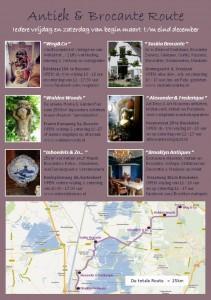 Antiek&Brocante Route achterzijde